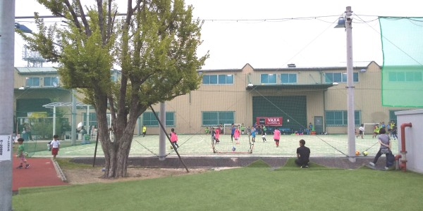 サッカースクールの様子