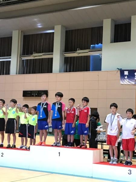 全日本トランポリンジュニア団体10歳以下の部優勝☆